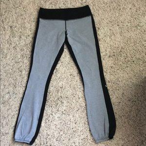 Splits59 Icon Sweatpants in Black/Lt Grey - EUC!